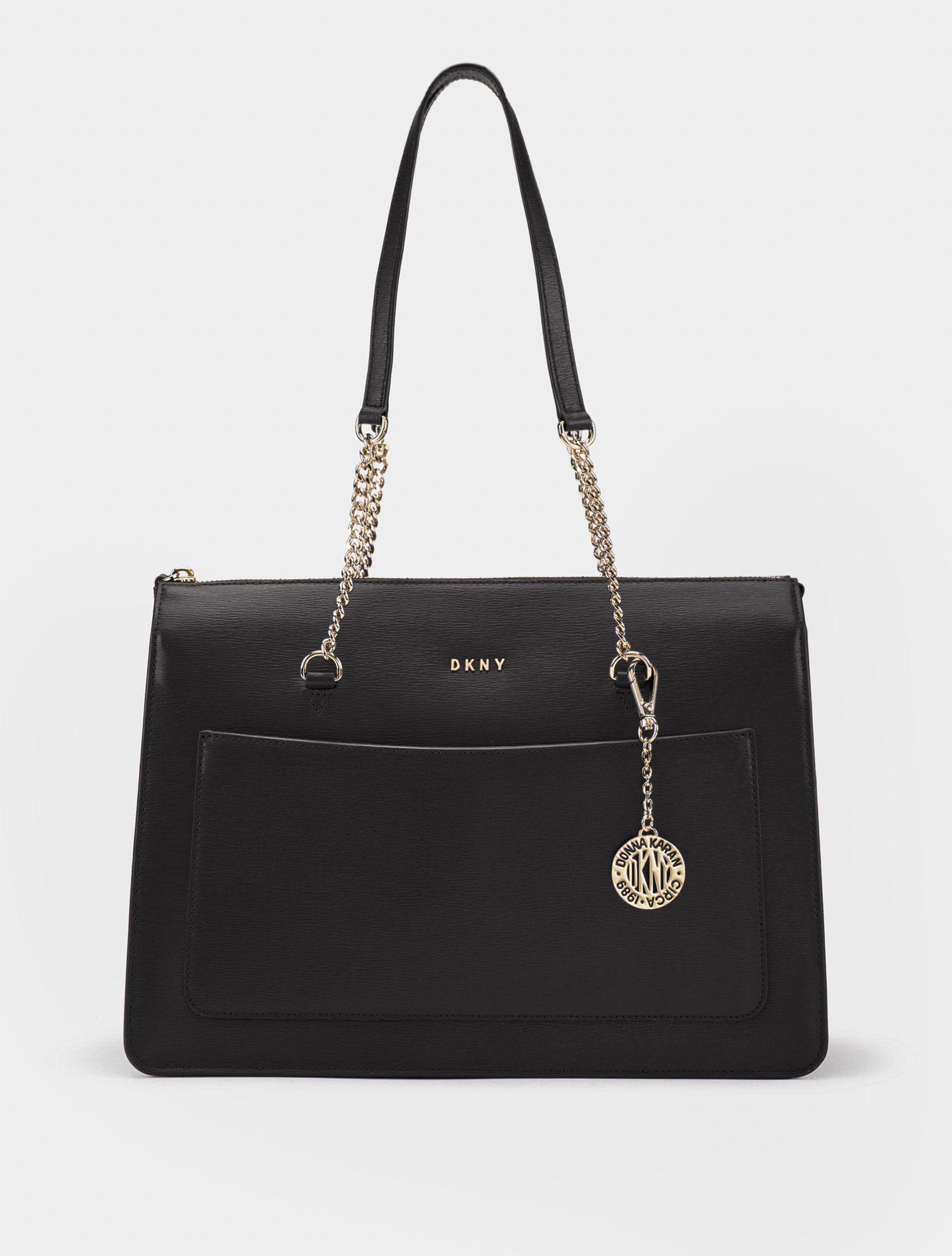 b7e9913645d0 Сумка DKNY классика. Цвет черный купить в официальном интернет ...