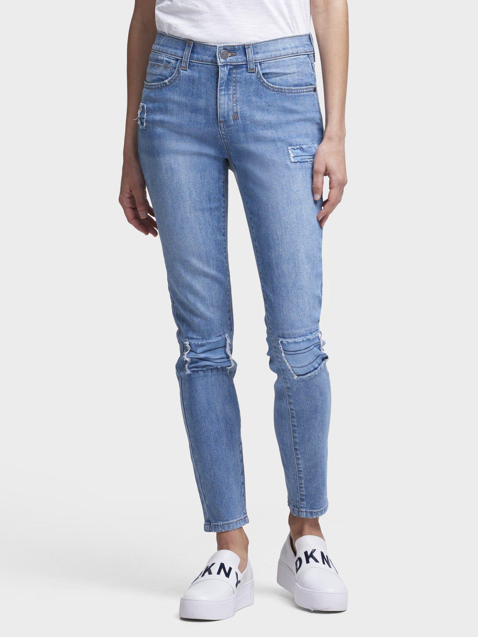 Брюки джинсовые от DKNY