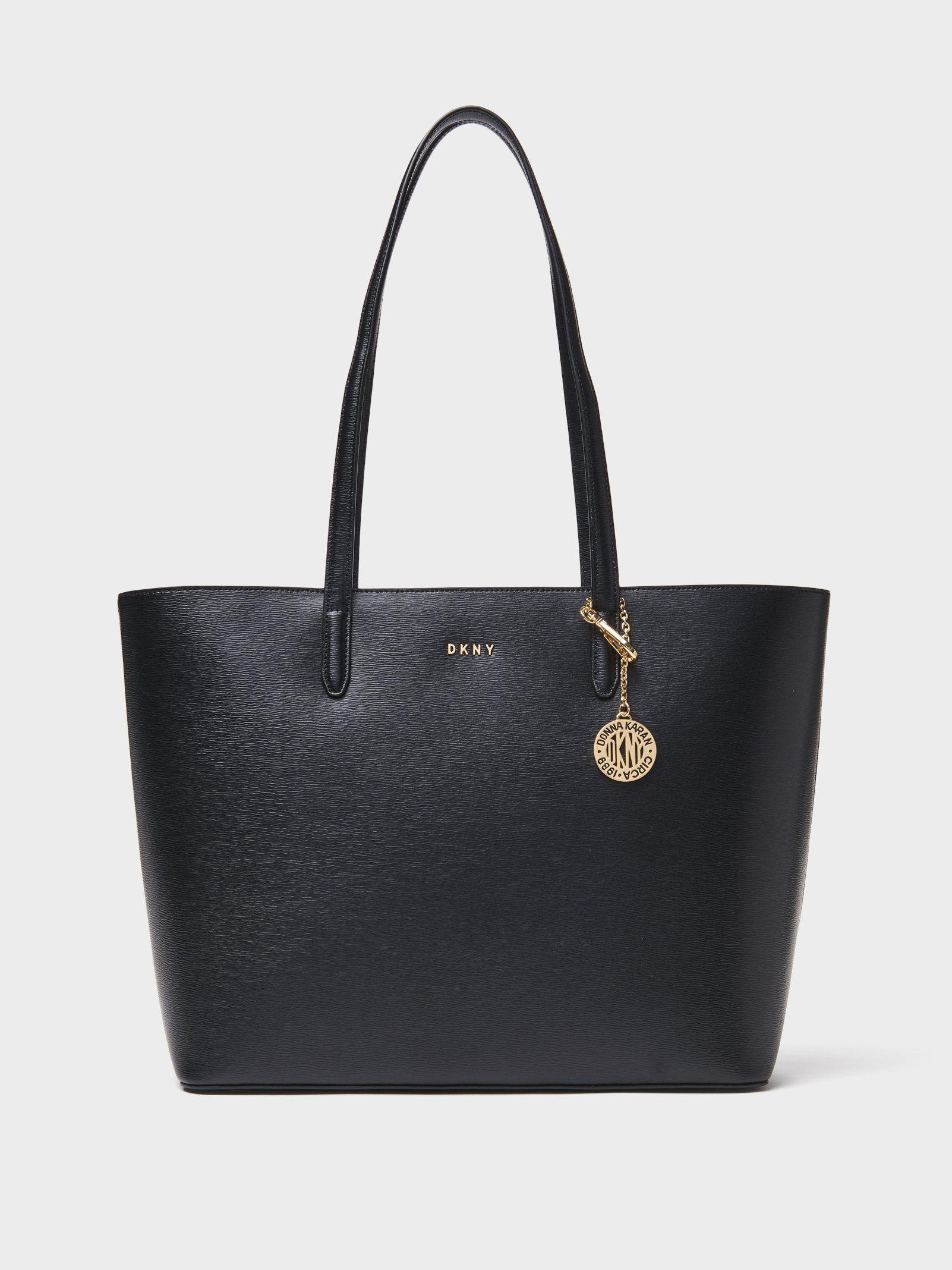 bfb00ac46dd5 Сумка DKNY Sutton Large Tote. Цвет черный купить в официальном ...