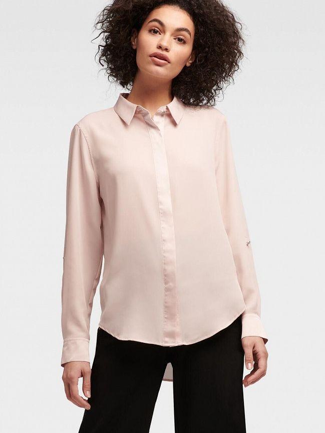 b62ff4b251ce574 Женские топы и блузки DKNY в официальном интернет-магазине в России.